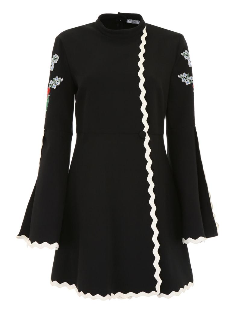 Vivetta Embroidered Isabey Dress - BLACK (Black)