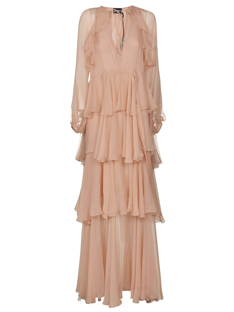Dsquared2 Layered Lace Dress - Pink