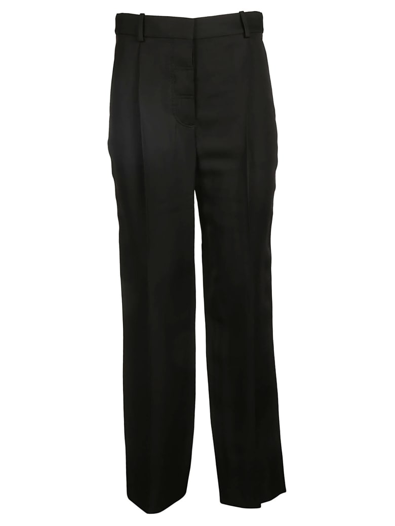 Victoria Beckham Straight Leg Trousers - Black