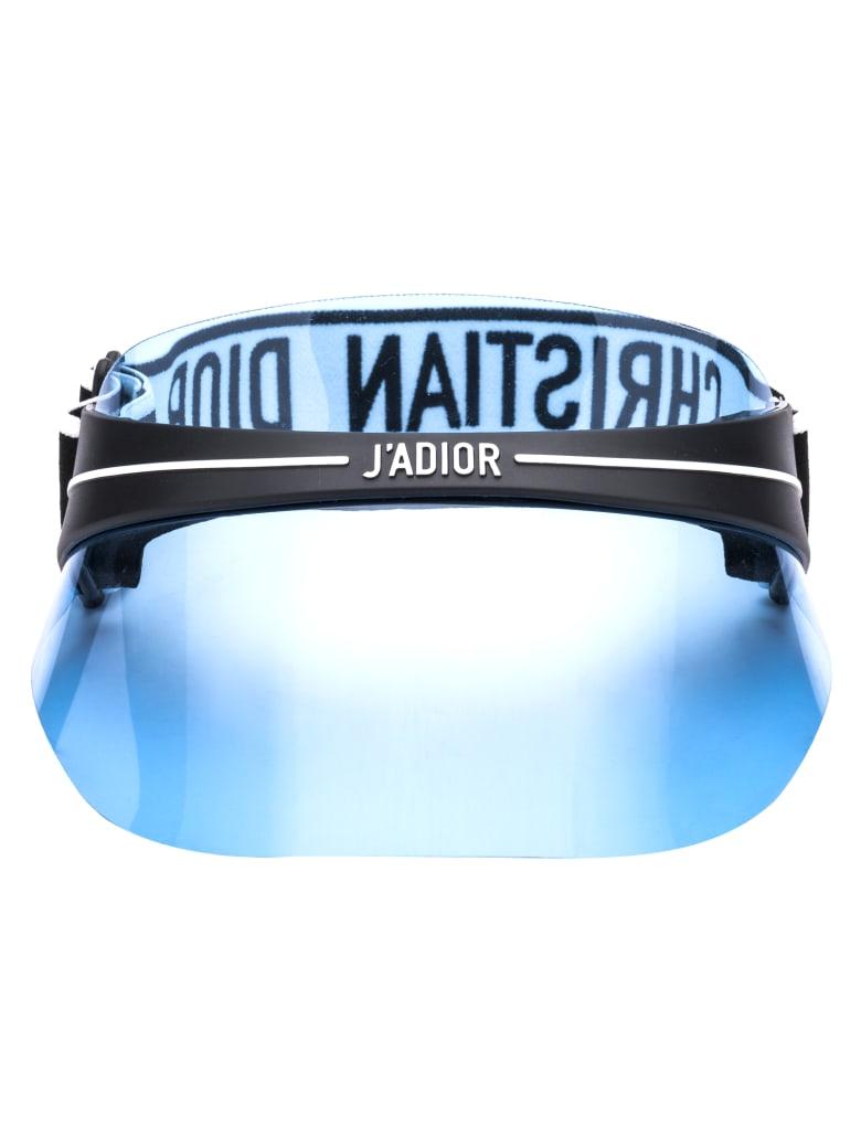 Dior club1 Sunglasses - J0F BLACK LT BLUE