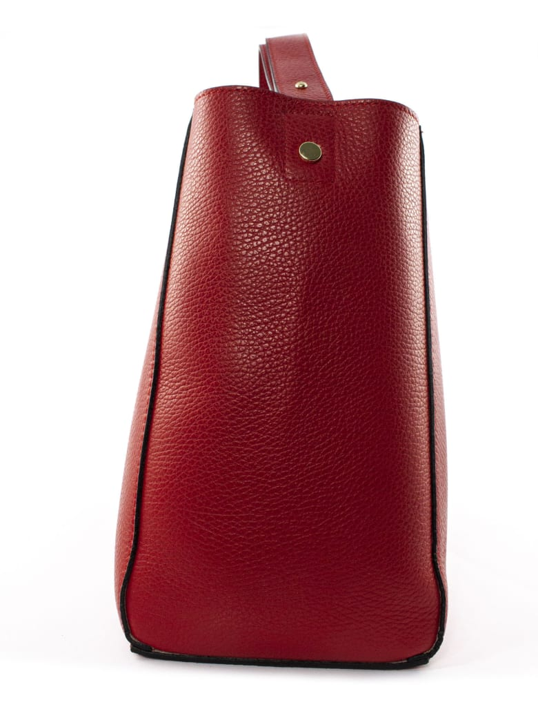 Avenue 67 Annetta Red Leather Bag - Rosso