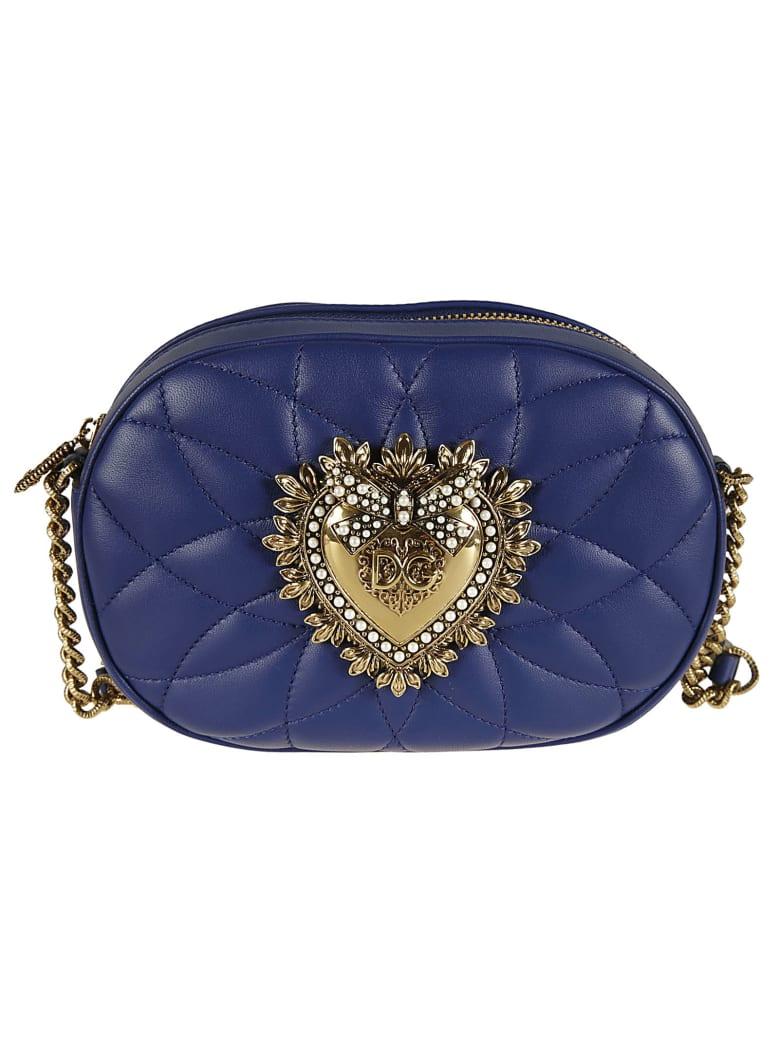 Dolce & Gabbana Medium Chain Wallet - blue