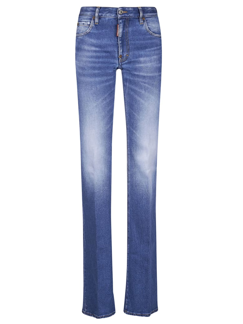 Dsquared2 Long Fade Effect Jeans - 470