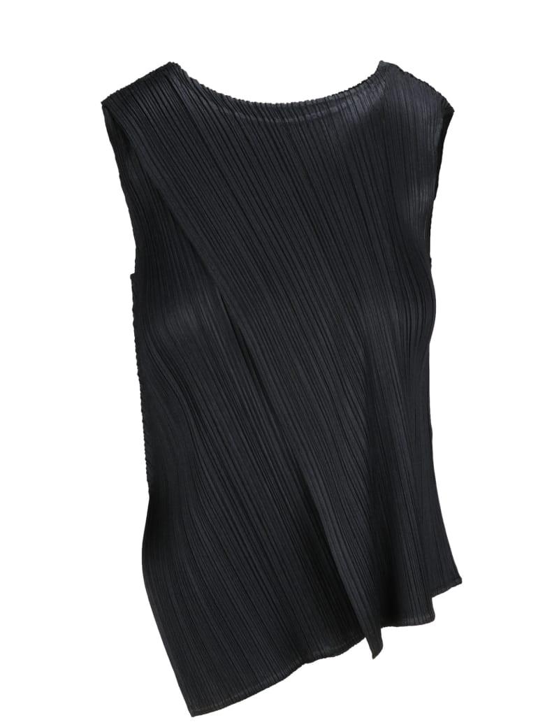 Pleats Please Issey Miyake Shirt - Black