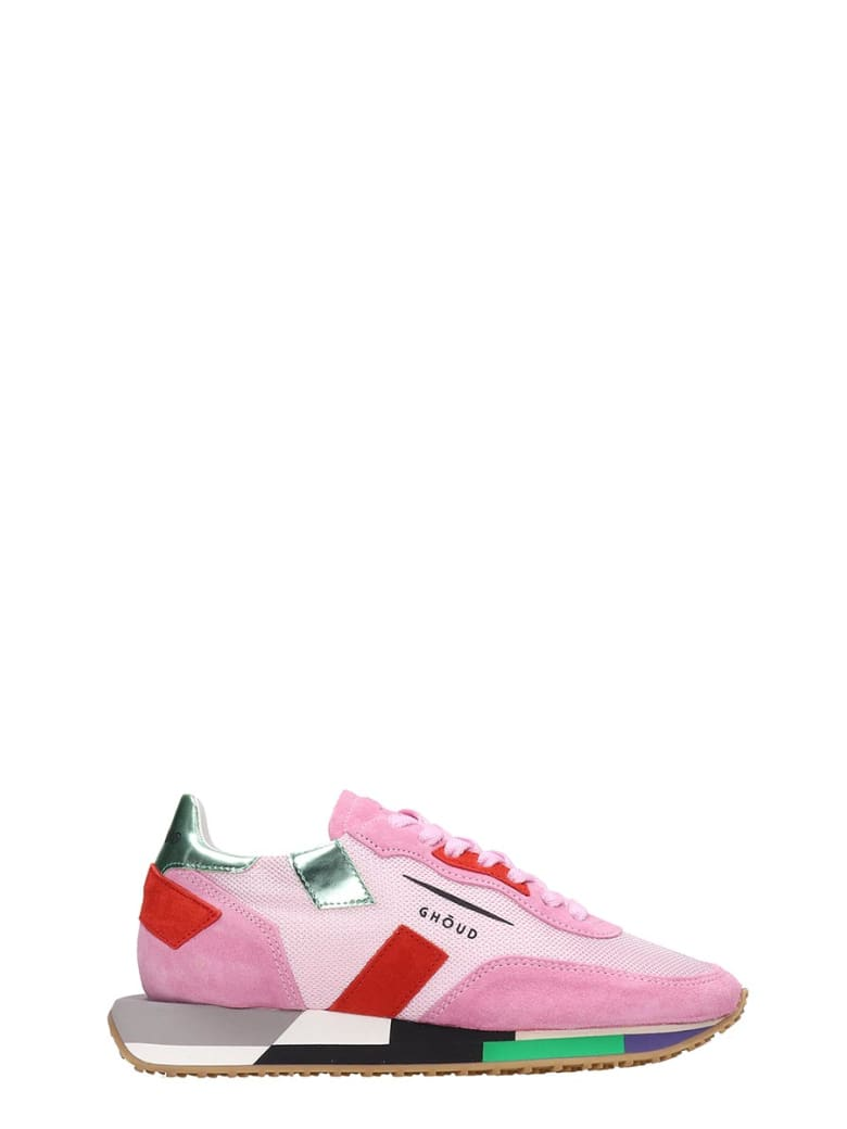 GHOUD Rush Sneakers In Rose-pink Tech/synthetic - rose-pink