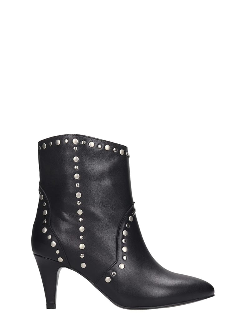 Best price on the market at italist | Bibi Lou Bibi Lou High Heels Ankle Boots In Black Leather