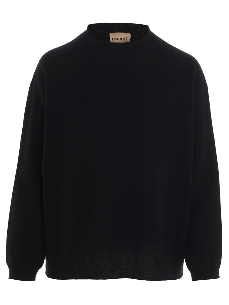 (nude) Sweater - Black