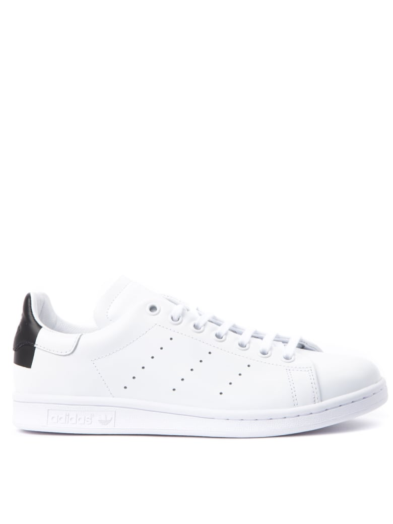 Adidas Originals Stan Smith Recon White & Black Leather Sneakers - White/black