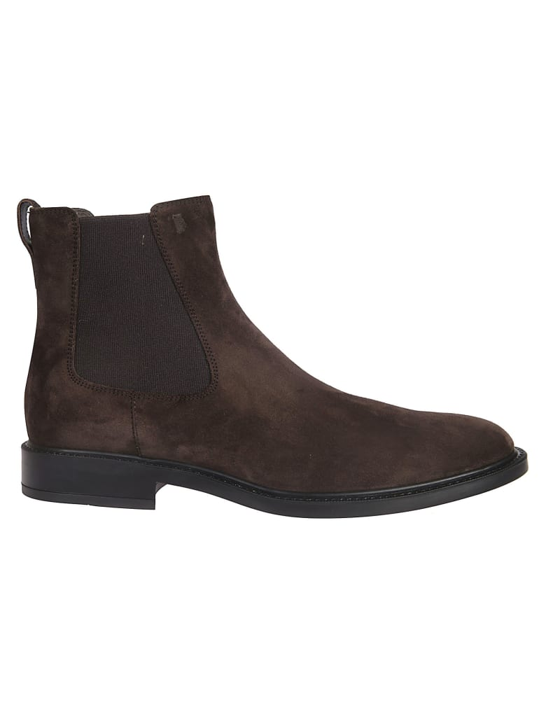 Tod's Classic Chelsea Boots - Brown