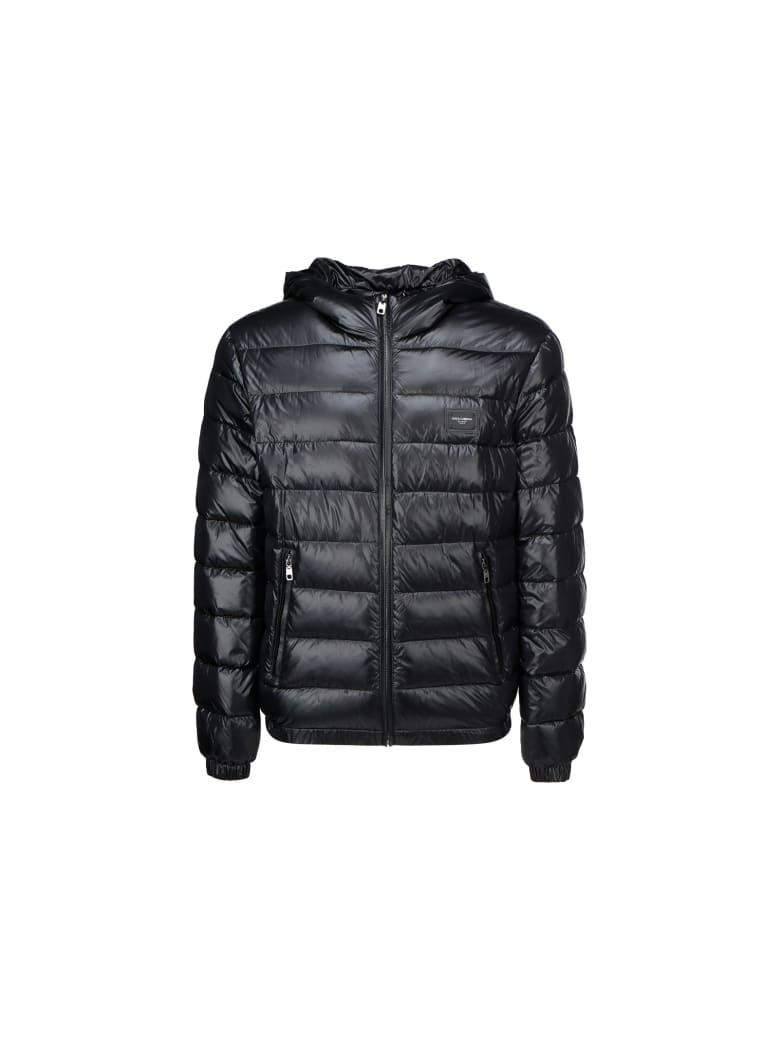 Dolce & Gabbana Down Jacket - Nero