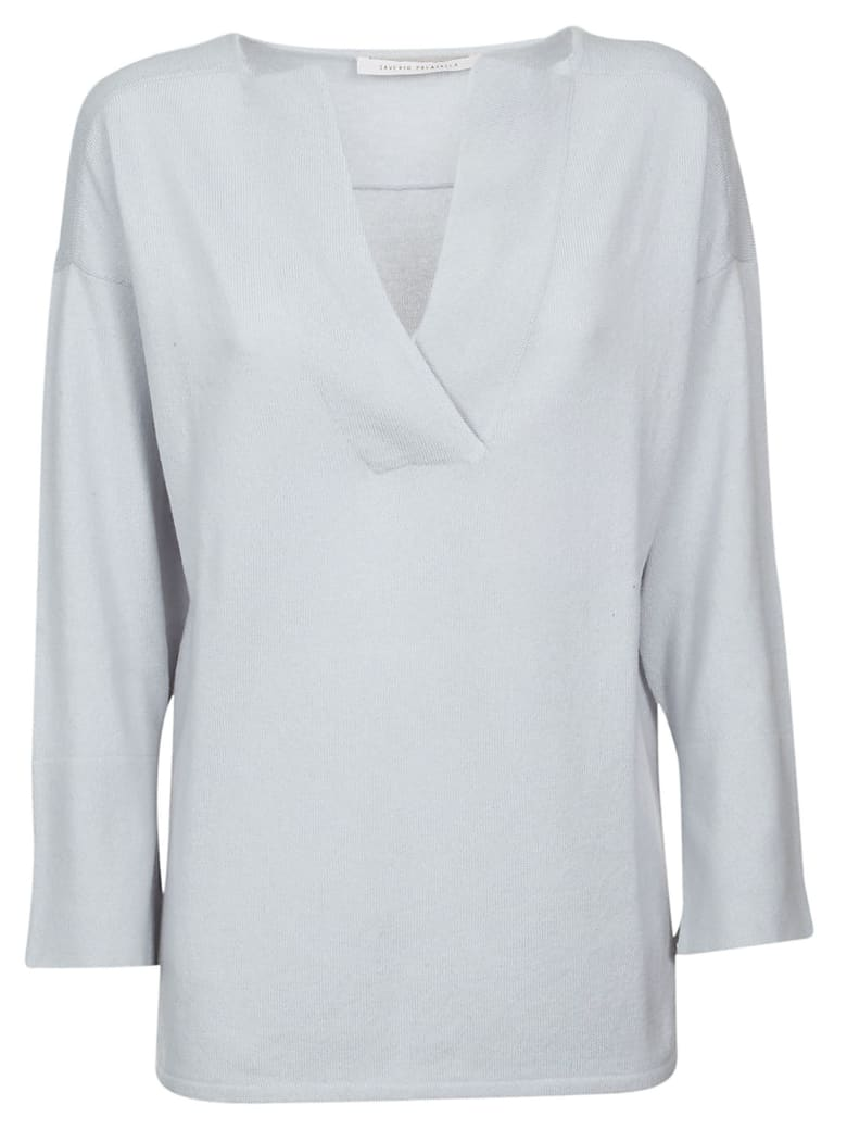 Saverio Palatella Classic Top - Light blue