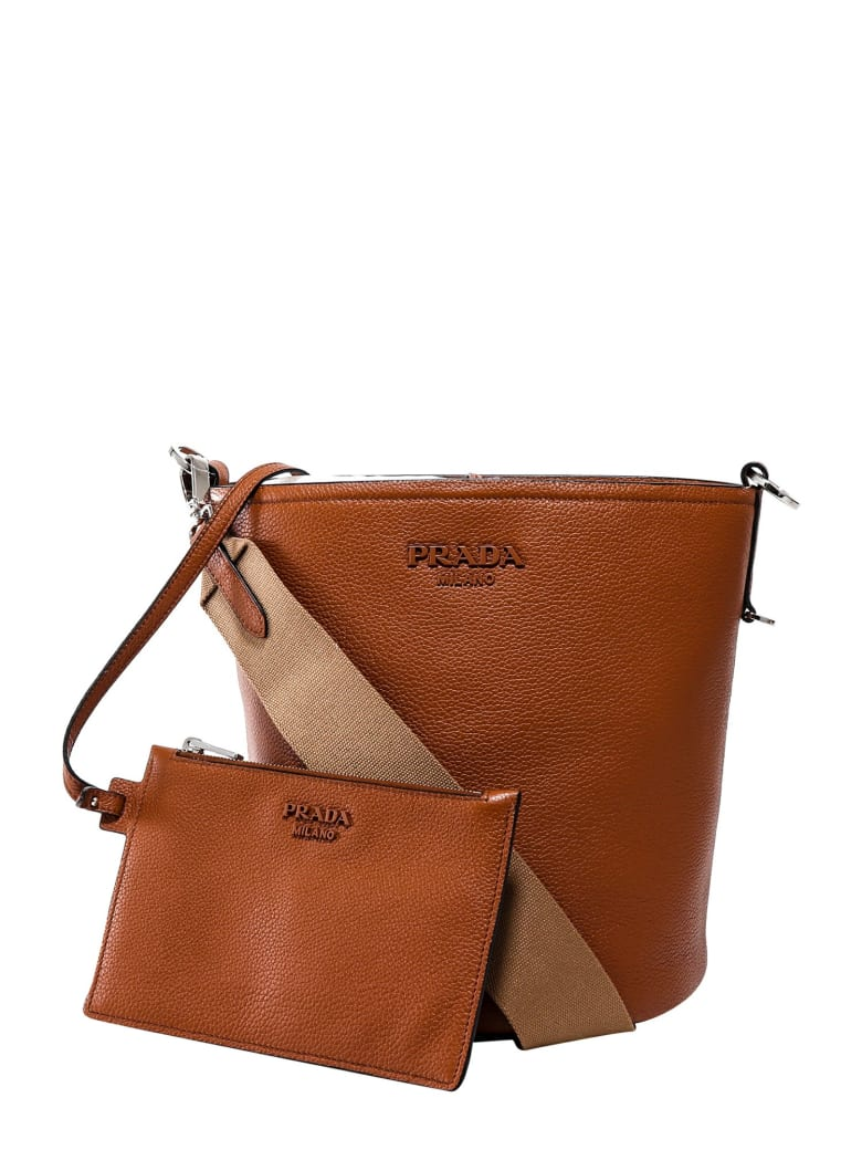 Prada Bucket Bag - Brown