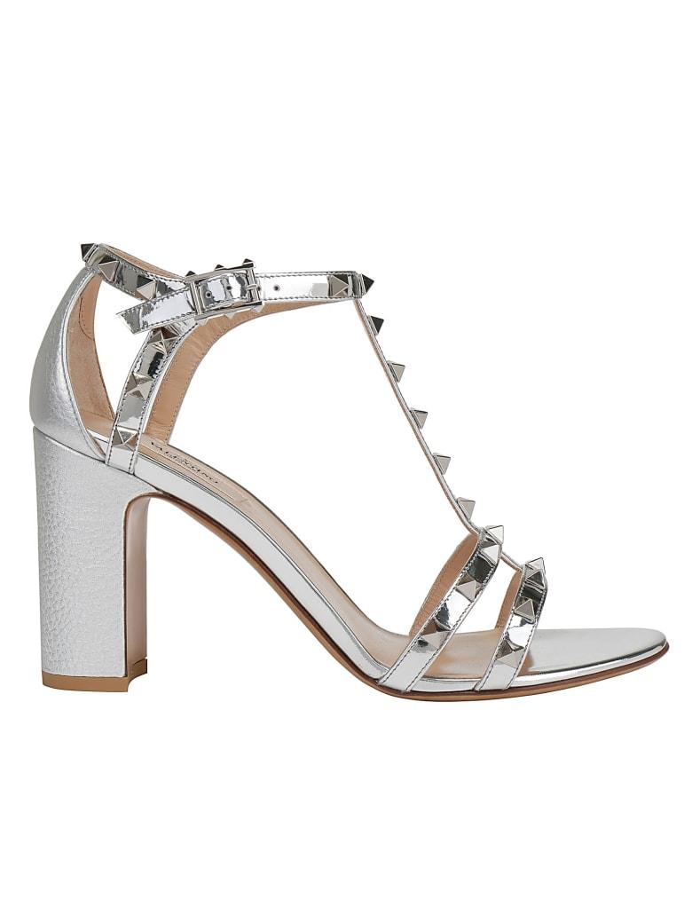 Valentino Garavani Sandals - Silver/palladium