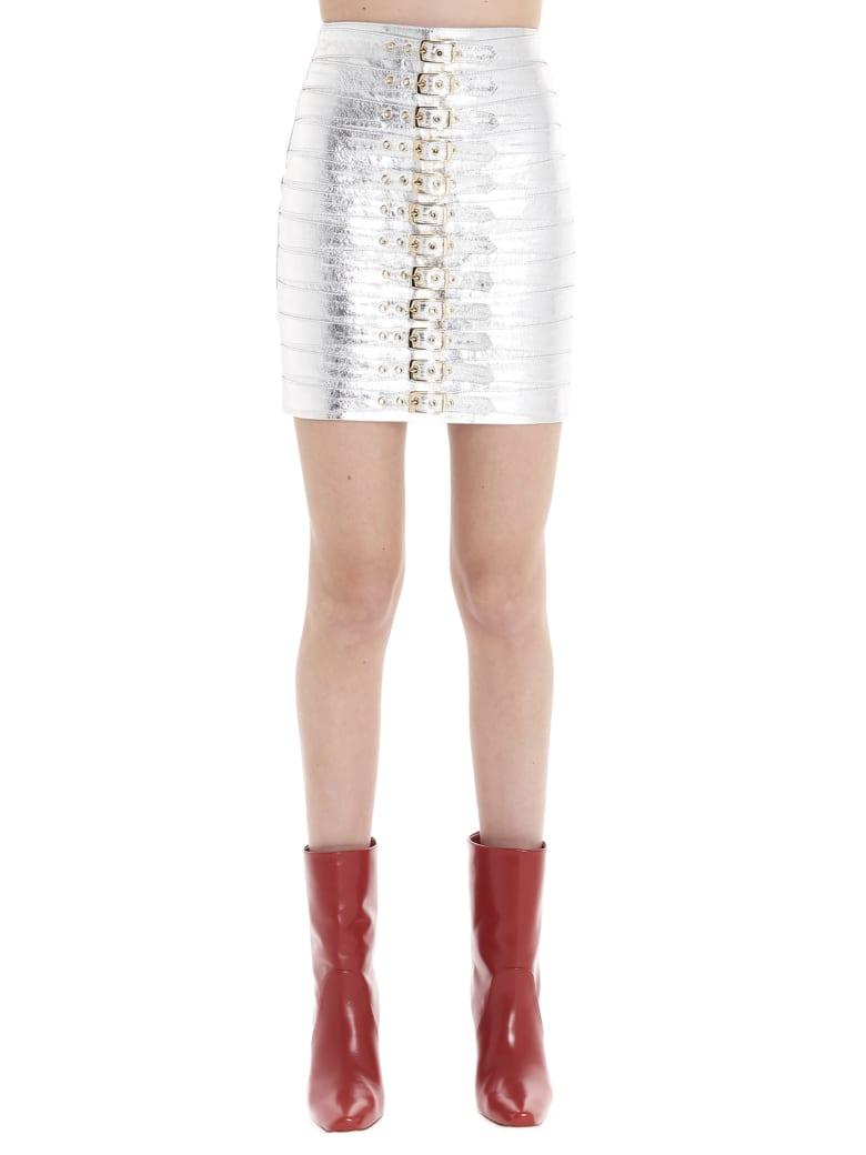 Manokhi 'dita' Skirt - Silver