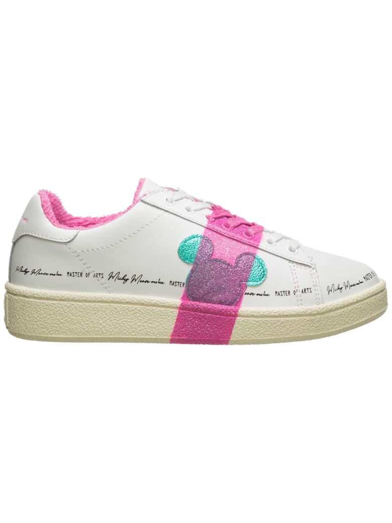 M.O.A. master of arts Moa Master Of Arts Disney Sneakers - Bianco