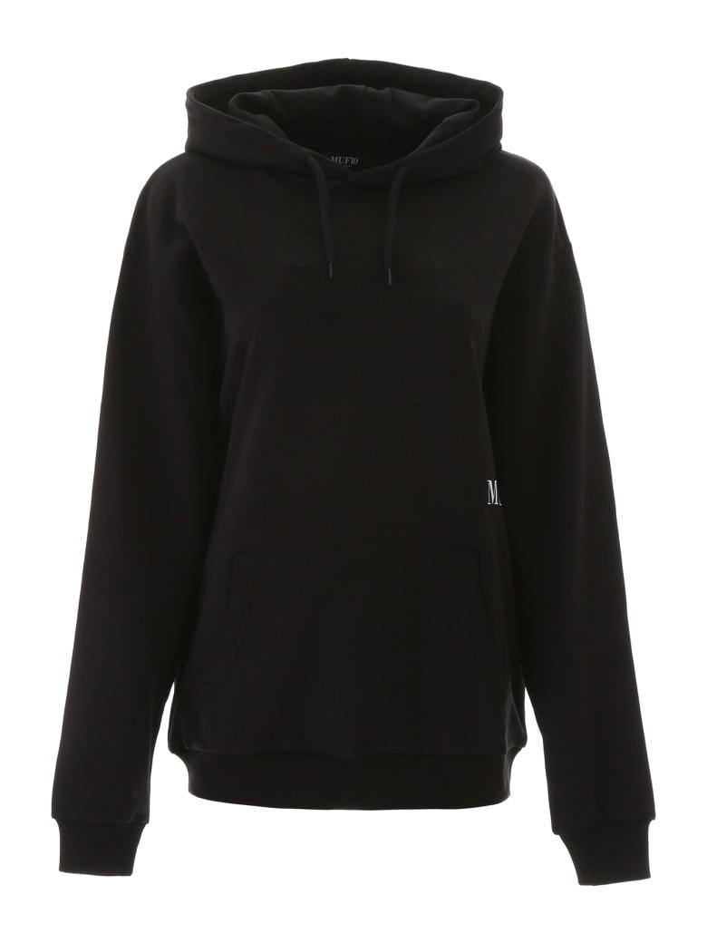 MUF10 Logo Print Hoodie - BLACK (Black)
