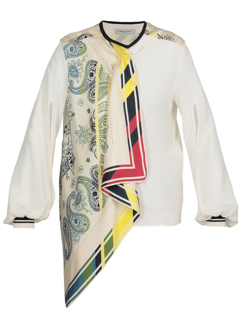Golden Goose Eleanor Shirt - AVORIO + MULTI
