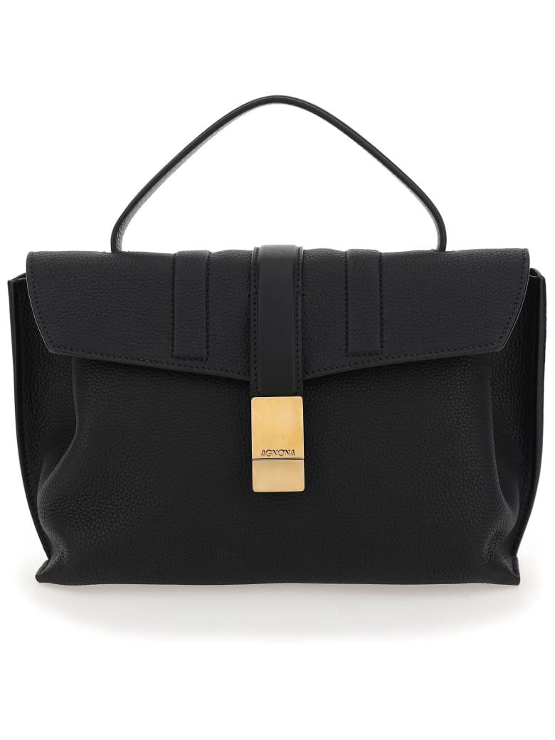 Agnona Crossbody Bag - Black