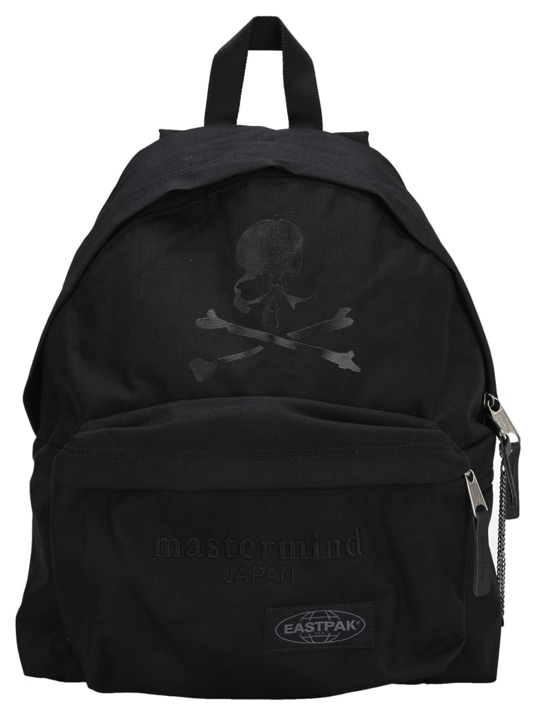 Eastpak Colab Mastermind Japan X Eastpak Embroidered Logo Backpack - MIND BLACK