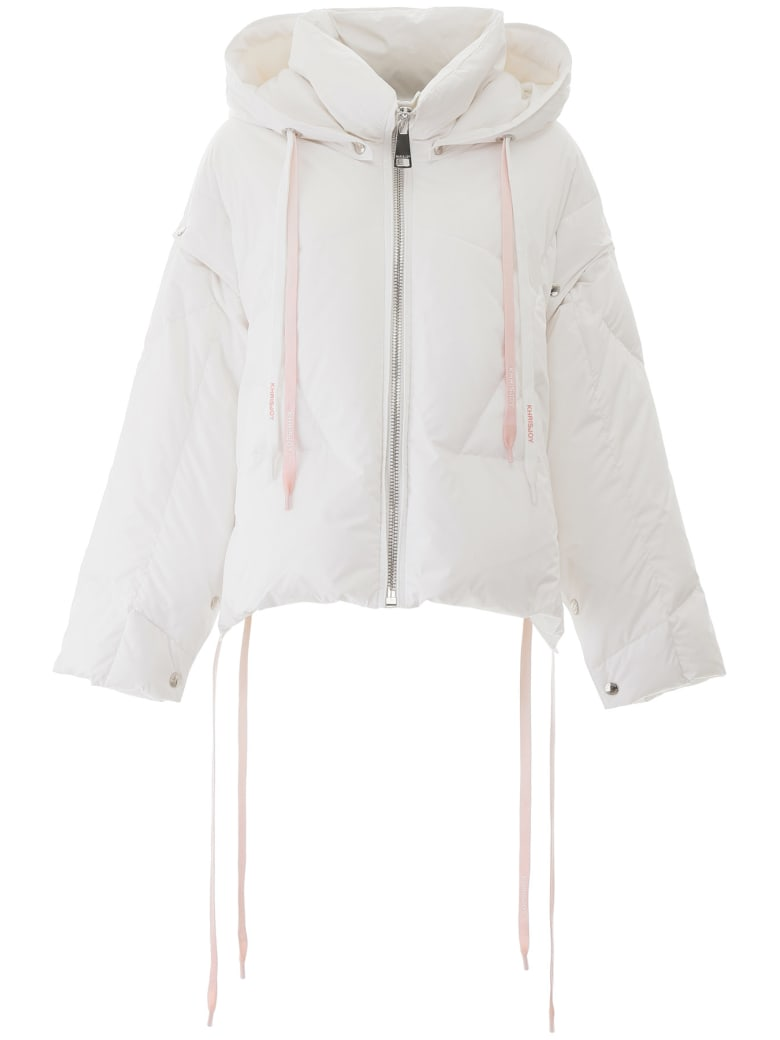 Khrisjoy Khris Puffer Jacket With Removable Sleeves - White