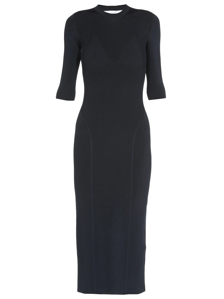 Victoria Beckham Stretch Dress - NAVY