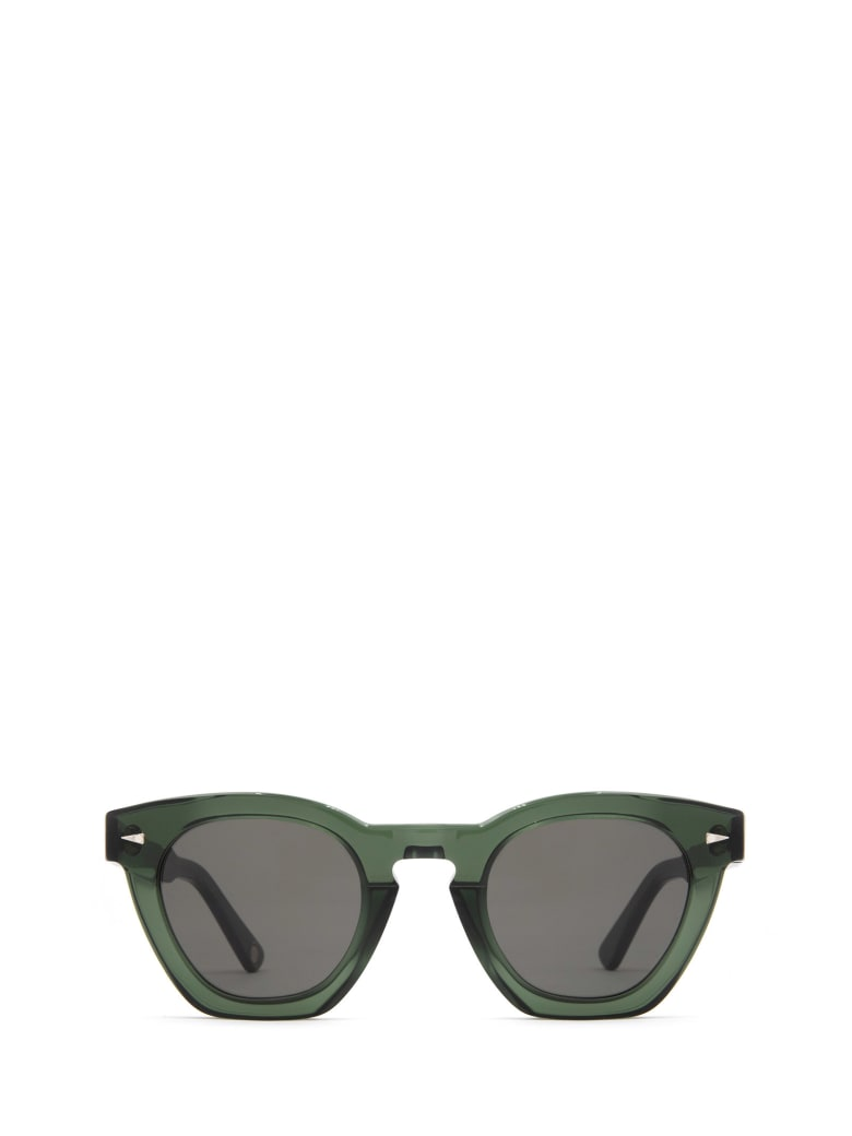AHLEM Ahlem Montorgueil Dark Green Sunglasses - DARK GREEN
