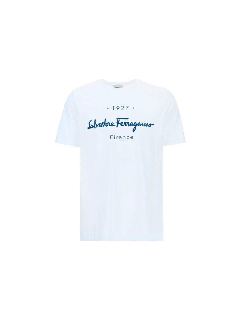 Salvatore Ferragamo T-shirt - Bco_ottico/tyrrheni