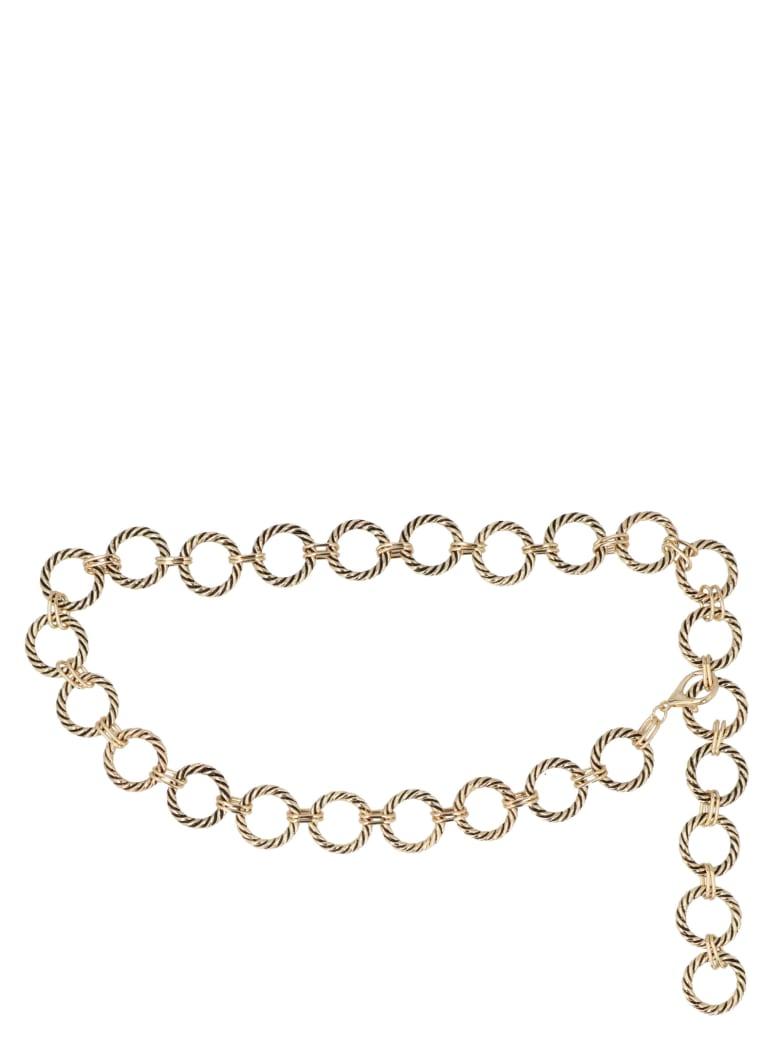 B-Low the Belt 'nadia Chain' Belt - Gold