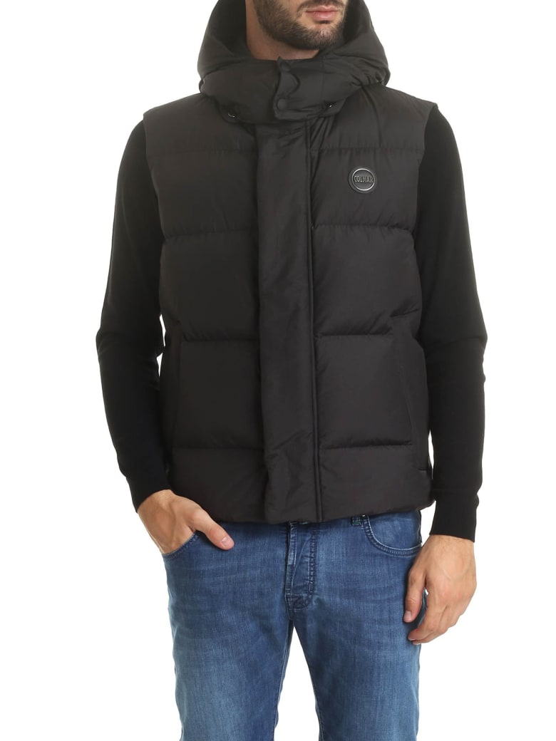 Colmar Hooded Padded Vest - NERO