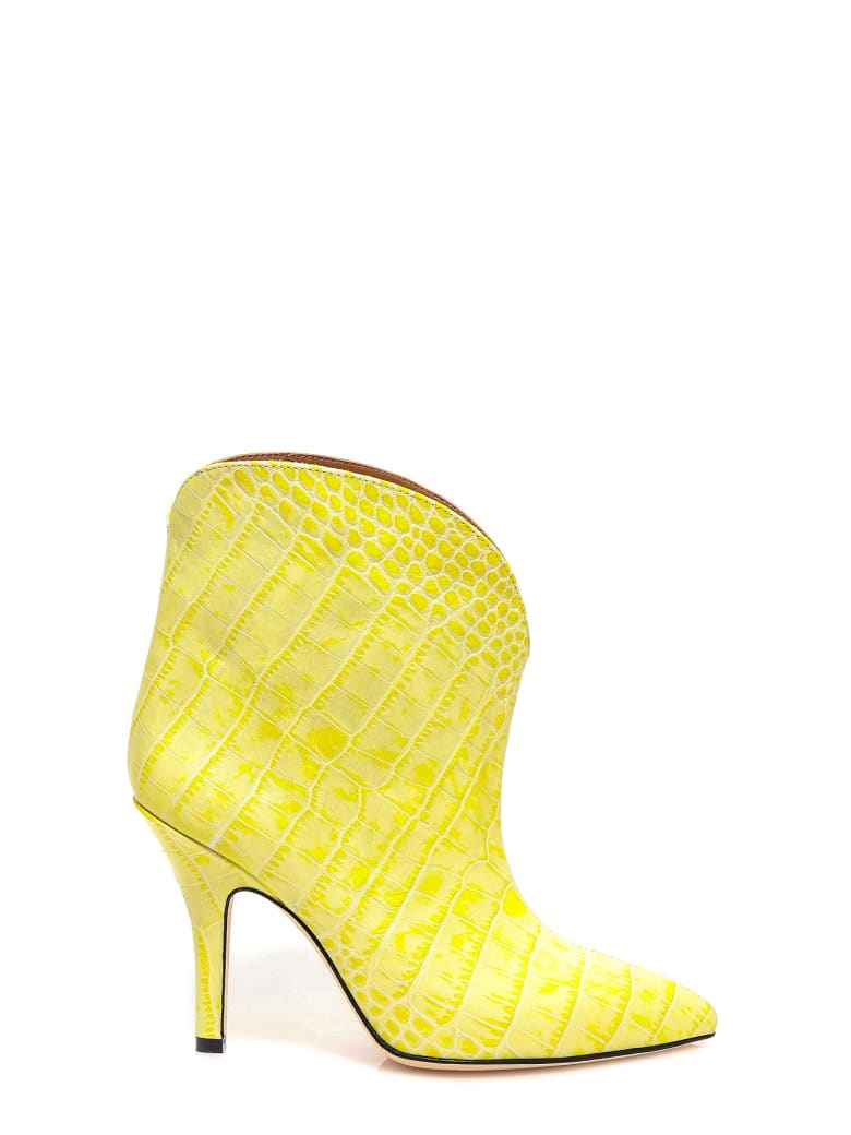 Paris Texas Ankle Boots - Yellow