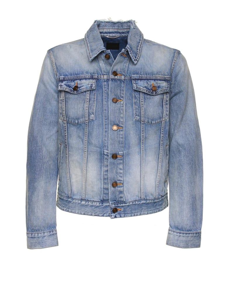 Saint Laurent Sky Denim Jacket - Blu Denim