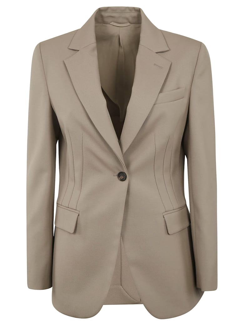 Brunello Cucinelli Single-buttoned Blazer - Visone