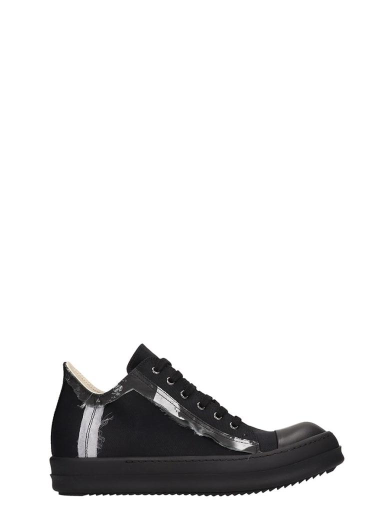 DRKSHDW Low Sneaks Sneakers In Black Tech/synthetic - black
