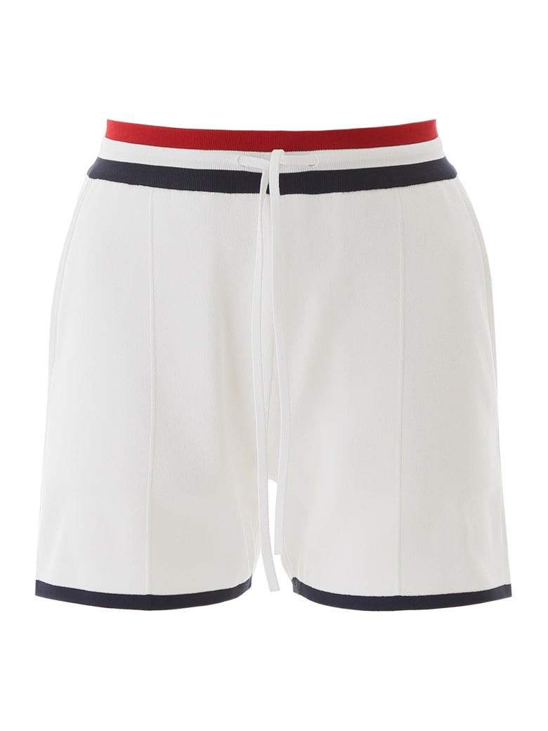 Thom Browne Jersey Shorts - WHITE (White)