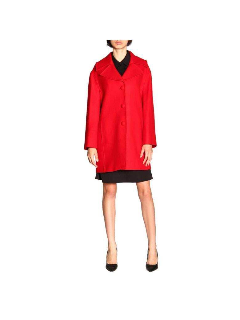 Blumarine Coat Coat Women Blumarine - red