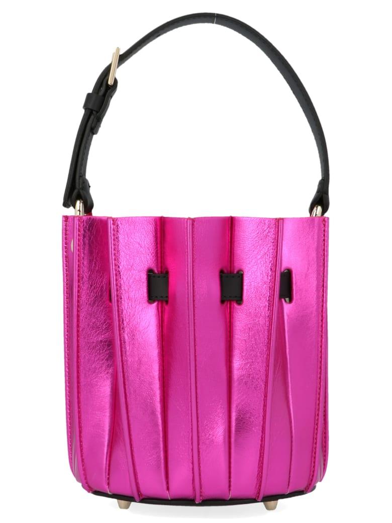 Sara Battaglia 'mini Plissè' Bag - Multicolor