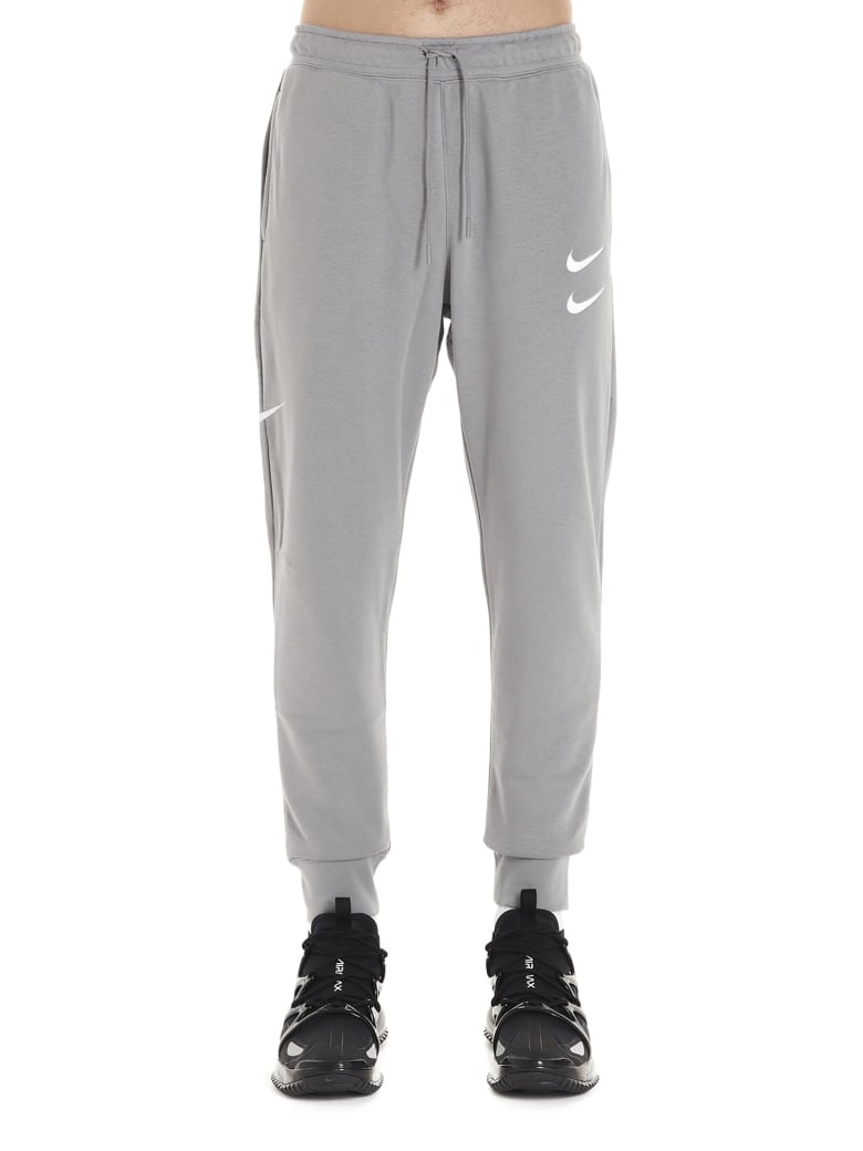 Nike 'swoosh' Sweatpants - Grey
