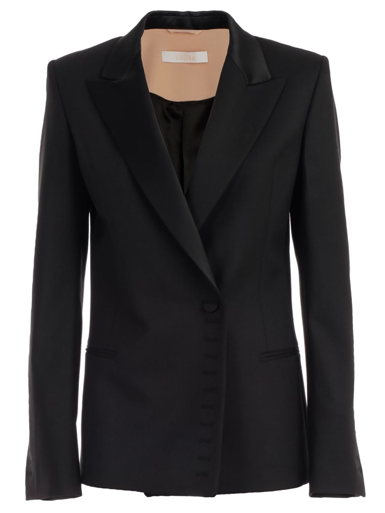 SSHEENA Jacket Wool Revers - Black