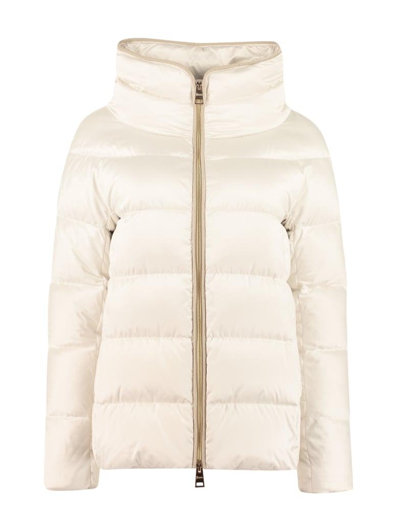 Herno Full Zip Padded Jacket - Ivory