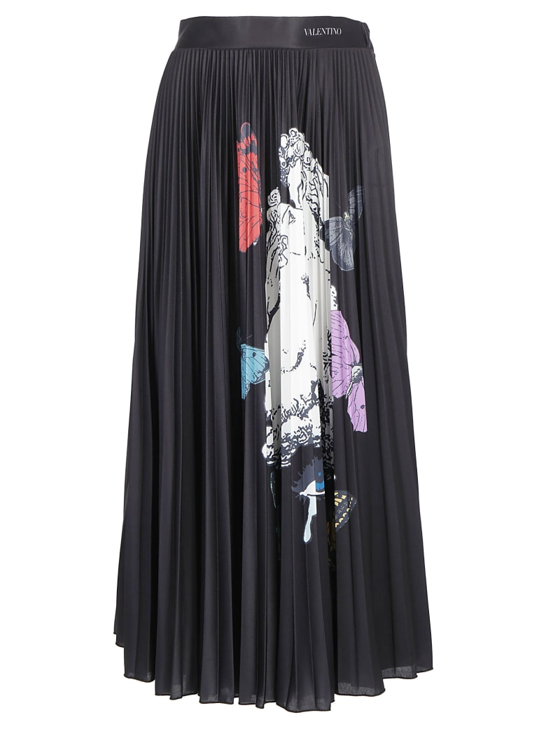 Valentino Skirt - Nero/multicolor
