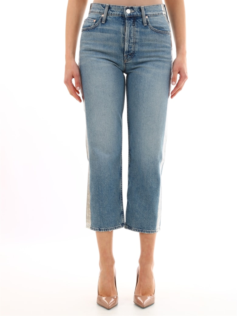 Mother Jeans Silver Band - Light blue