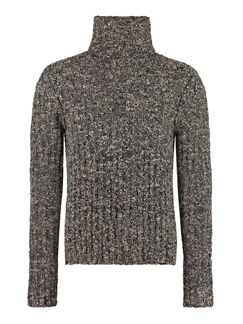 Dolce & Gabbana Wool Turtleneck Sweater - grey