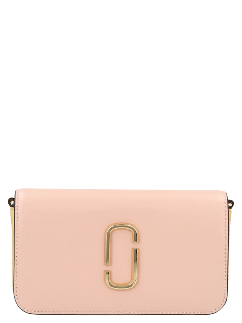 Marc Jacobs 'the Snapshot Wallet On Chain' Bag - Rosa