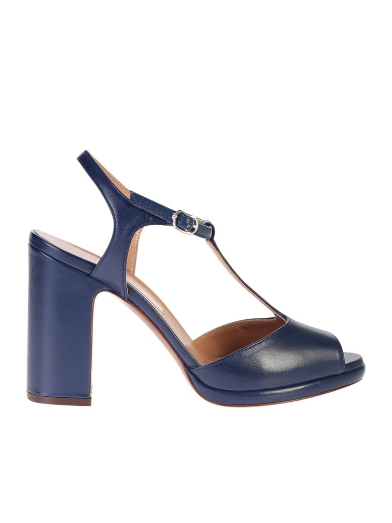 L'Autre Chose Blue Sandals - Blue