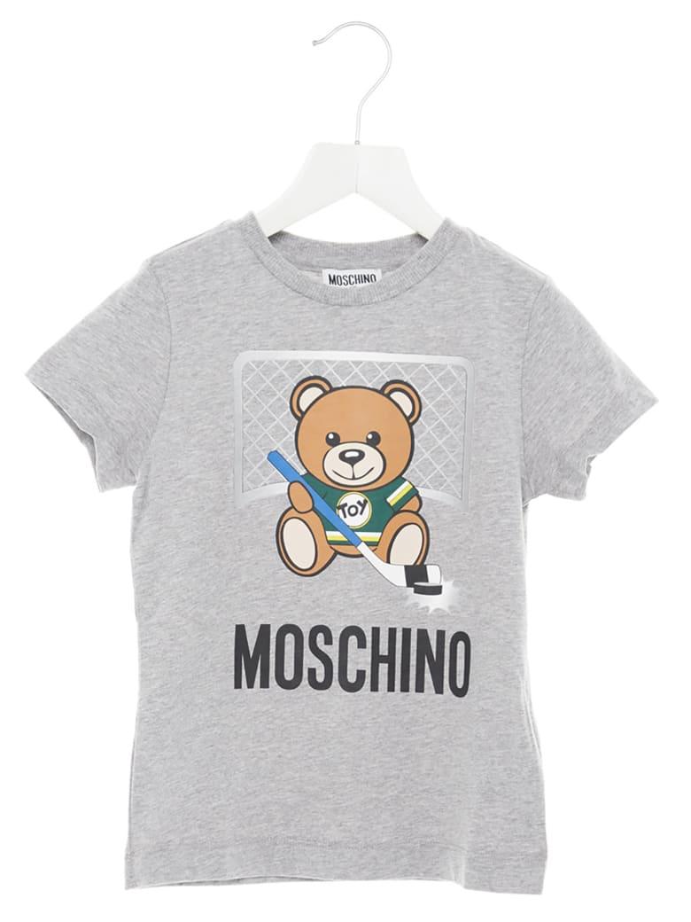 Moschino 'teddy Sport' T-shirt - Grey