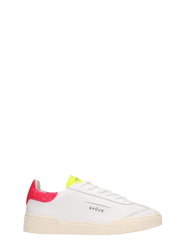 GHOUD Lob 01 Sneakers In White Leather - white