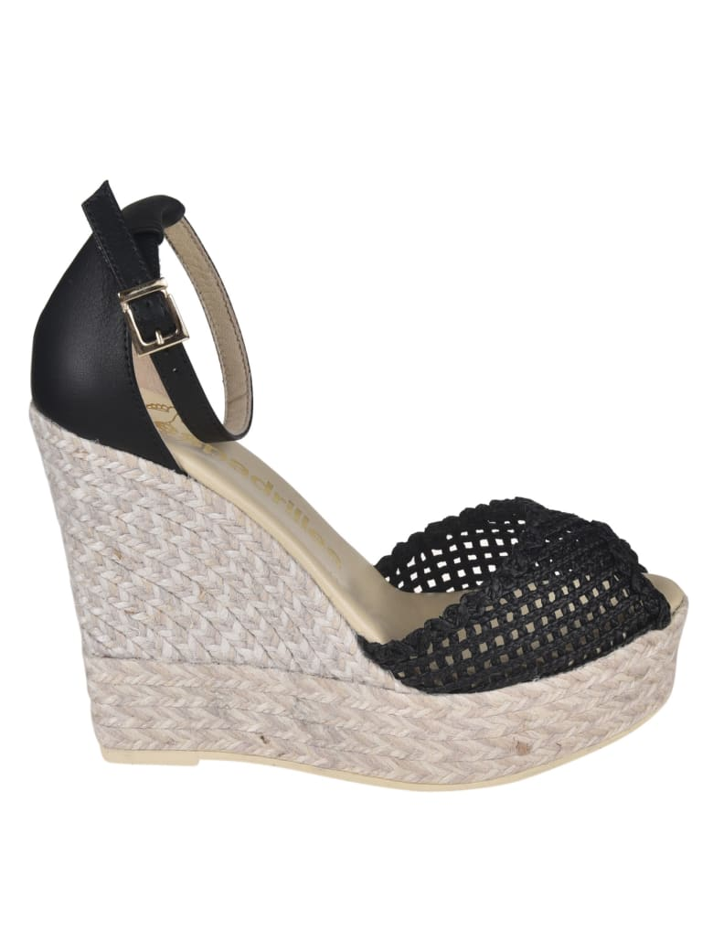 Espadrilles Sandals - Black