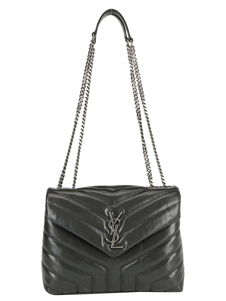 Saint Laurent Sain Laurent Loulou Shoulder Bag - Nero