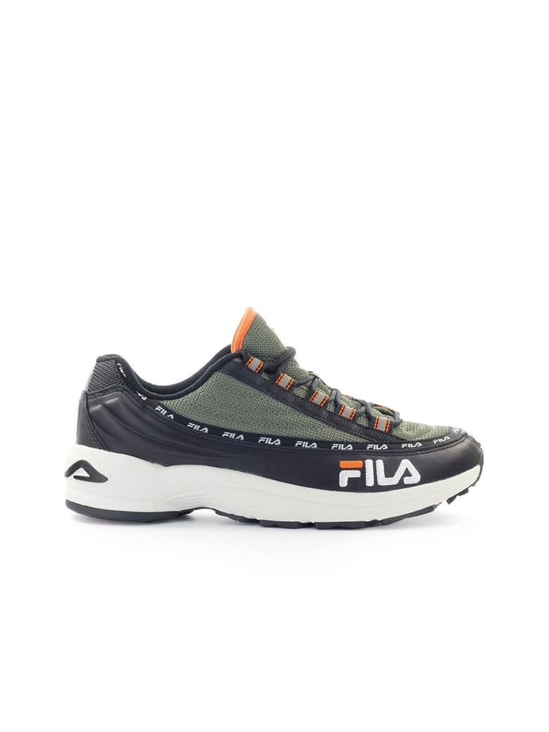 Best price on the market at italist Fila Fila Dragster97 Black Olive Green Sneaker  Fila Fila Dragster97 Black Olive Green Sneaker