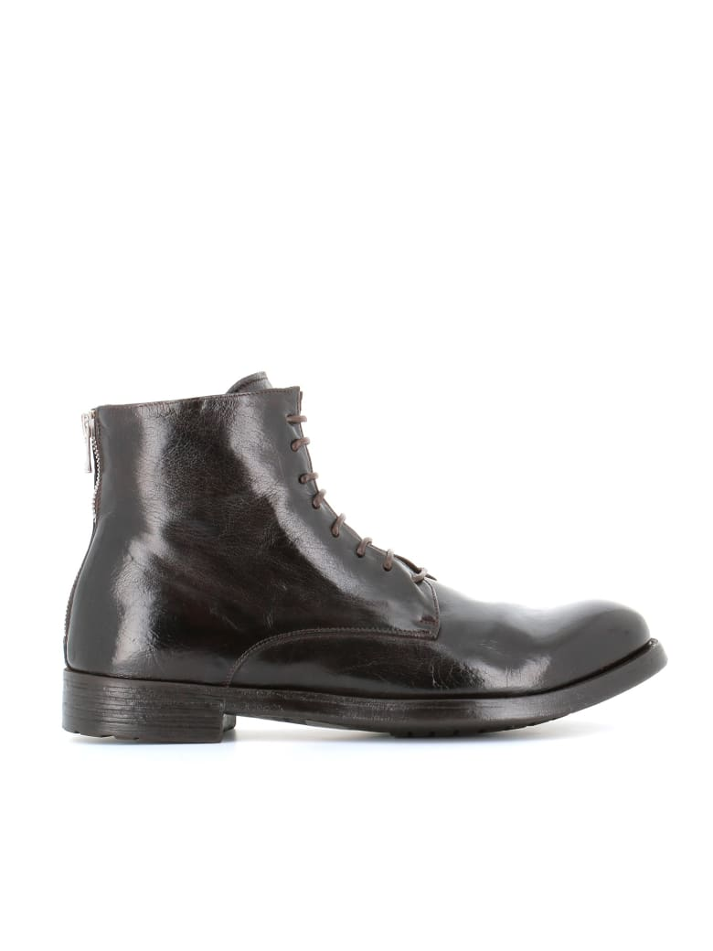 """Officine Creative Lace-up Boots """"hive/016"""" - Ebony"""